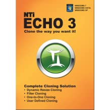 NTI Echo 3. Make an exact copy of a HDD or SSD, with Dynamic Resizing. [Download]