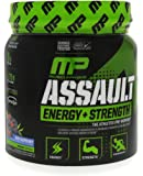 MusclePharm Assault Sport Nutrition Powder, Blue Raspberry, 30 Servings