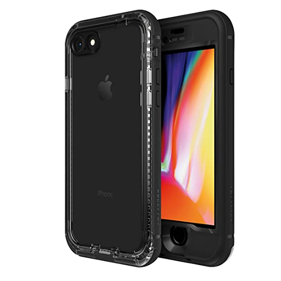 low priced 2c78a cf8f3 LifeProof NÜÜD SERIES Waterproof Case for iPhone 8 (ONLY) - Retail  Packaging - BLACK