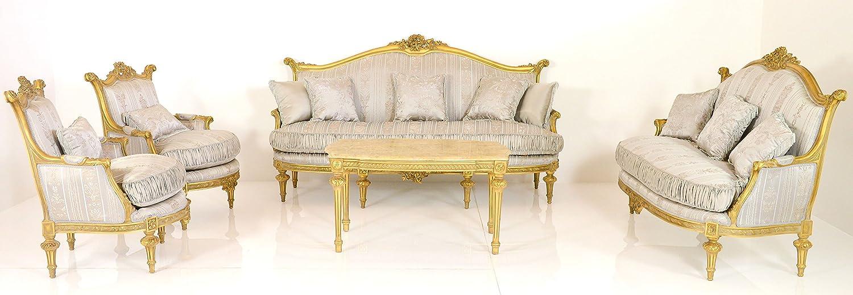 Luxus Wohnzimmer Set   Gold   Stil Antik | Barock | Rokkoko | Louis XV /  XVI | Klassische ...