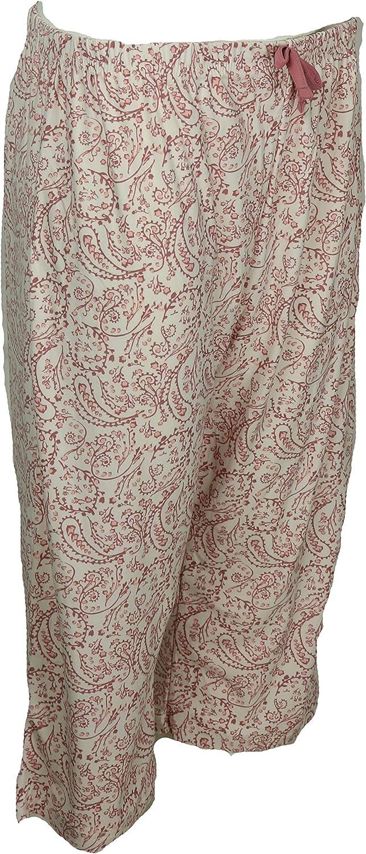 Capri Pants Elegant Emily Womens Plus Size Pajama Set Short Sleeves