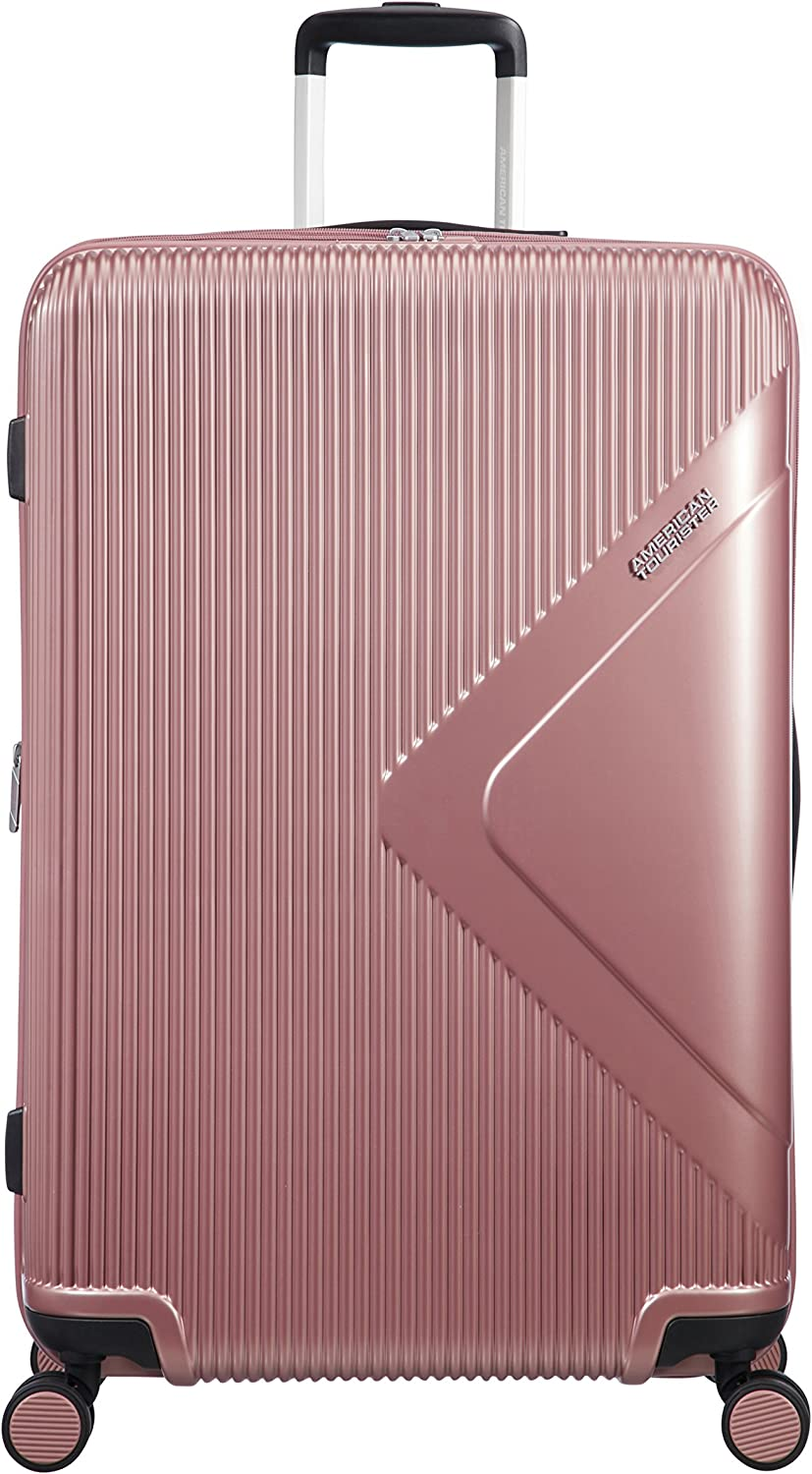 American Tourister Modern Dream - Spinner L Expandible Maleta, 77.5 cm, 114 L, Rosa (Rose Gold)