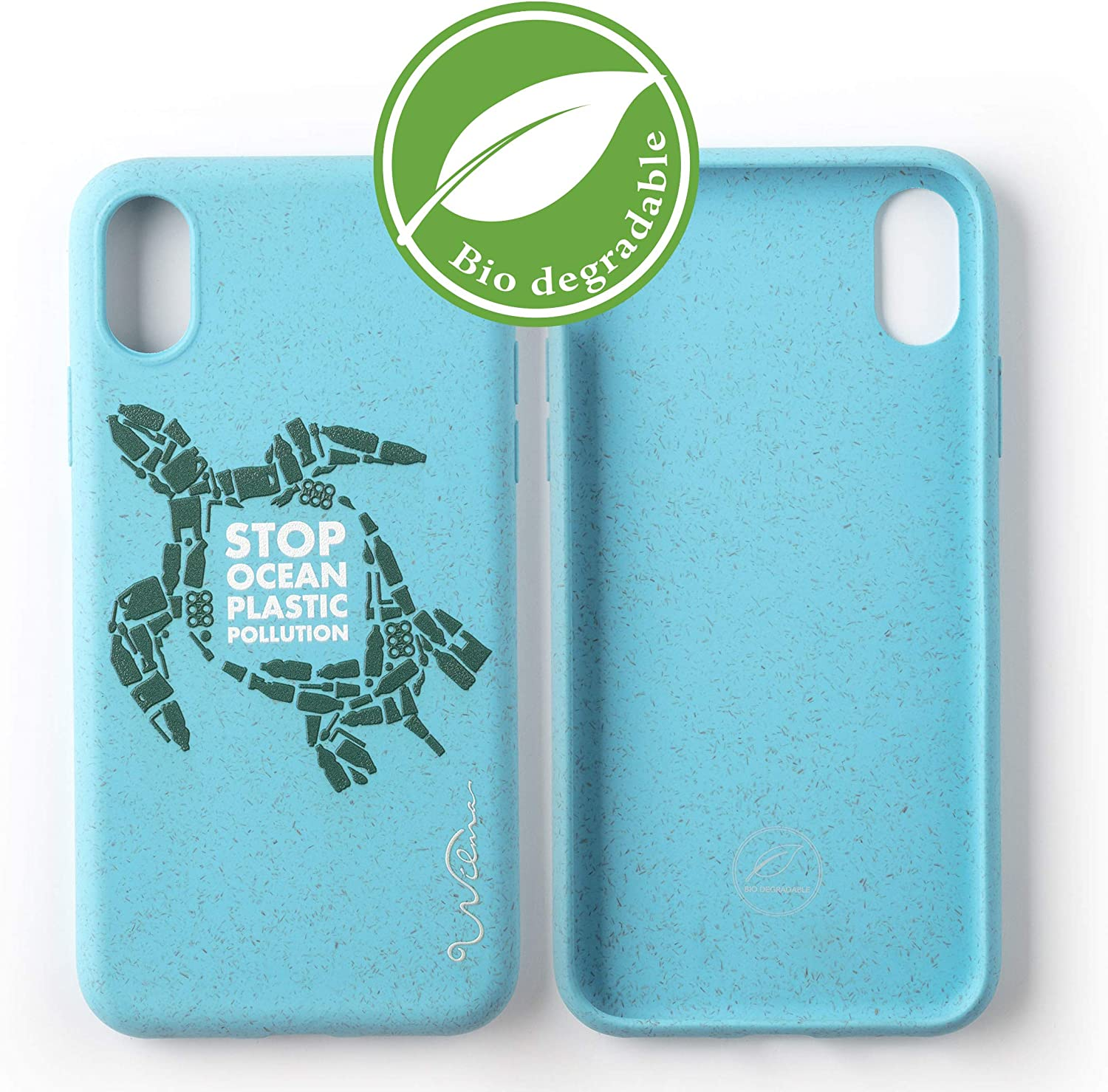 Funda Biodegradable Ecológica Wilma Compatible con iPhone XR Stop ...