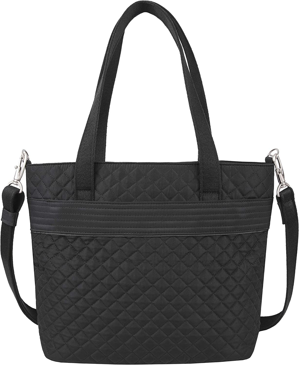 Travelon: Anti-Theft Boho Tote Bag - Black