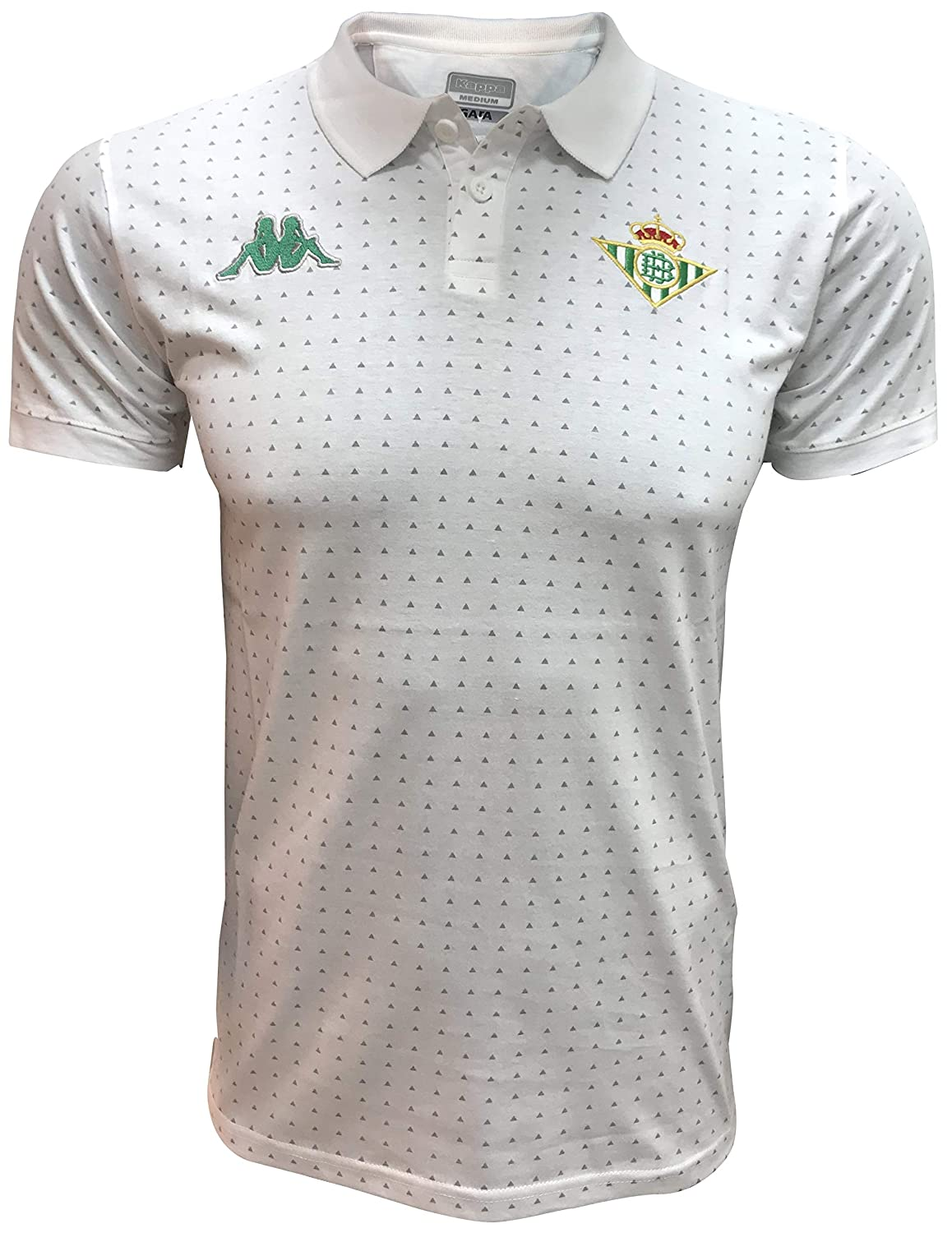 Kappa Real Betis 2018-2019 Talla L, Color Blanco, Verde: Amazon.es ...