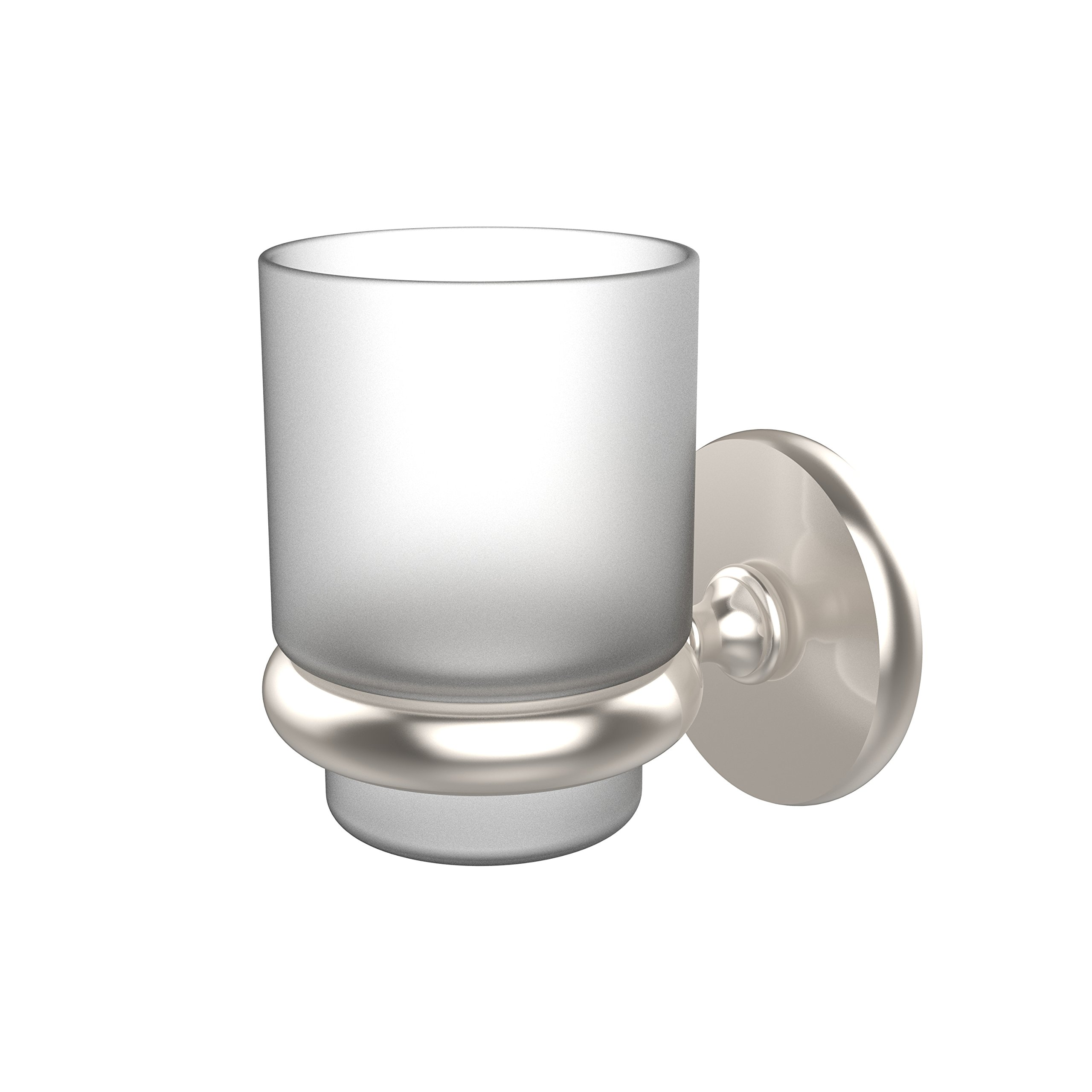Allied Brass P1066-SN Prestige Skyline Collection Wall Mounted Tumbler Holder Satin Nickel