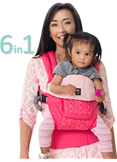 bc1d93c99ed LÍLLÉbaby The Complete Embossed Luxe SIX-Position 360° Ergonomic Baby    Child Carrier