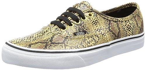 scarpe vans gold