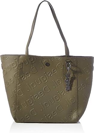 Oferta amazon: Desigual Accessories PU Shopping Bag, Bolsa de la compra para Mujer, U