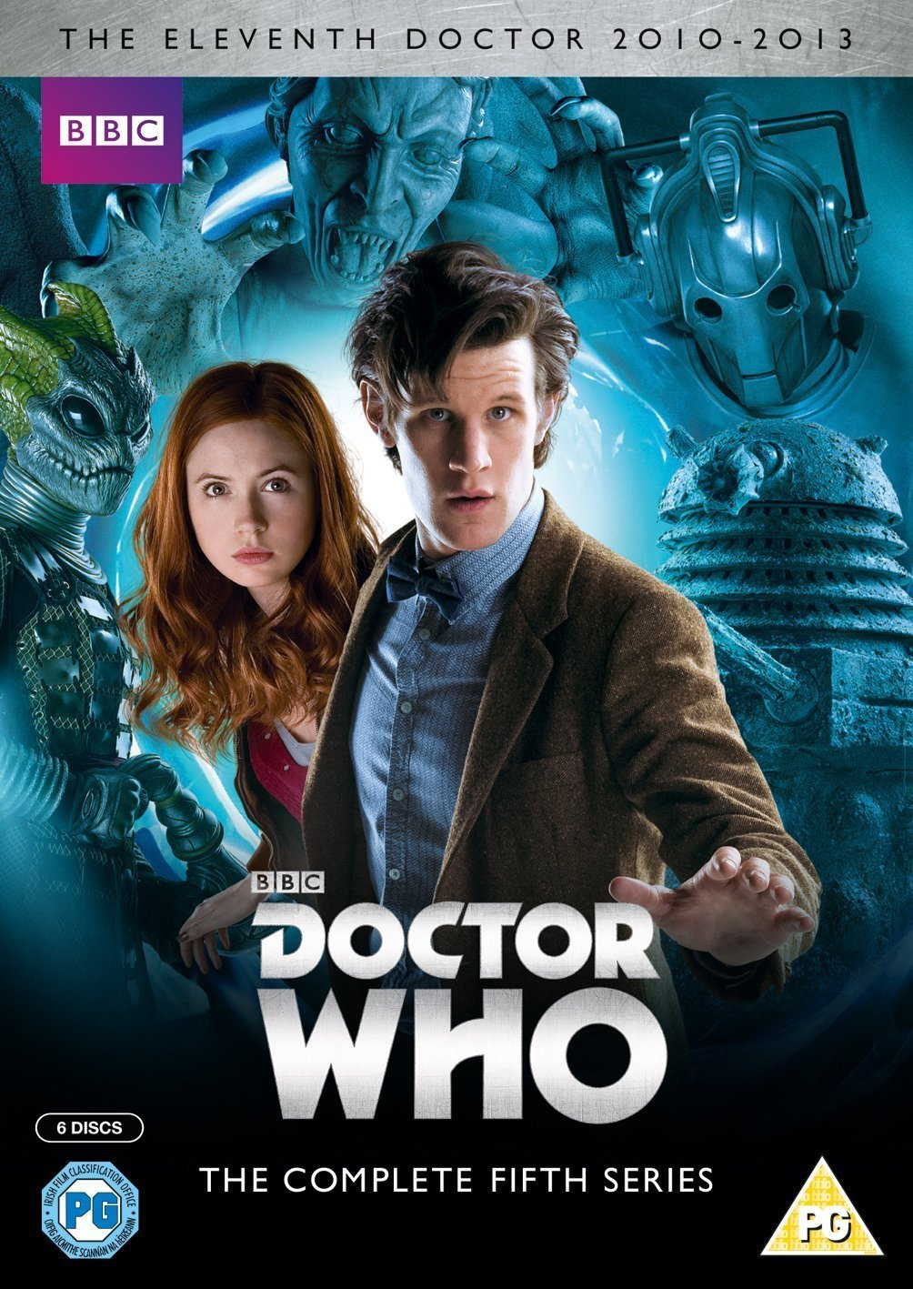 Doctor Who - Complete Series 5 Box Set repack Italia DVD: Amazon ...