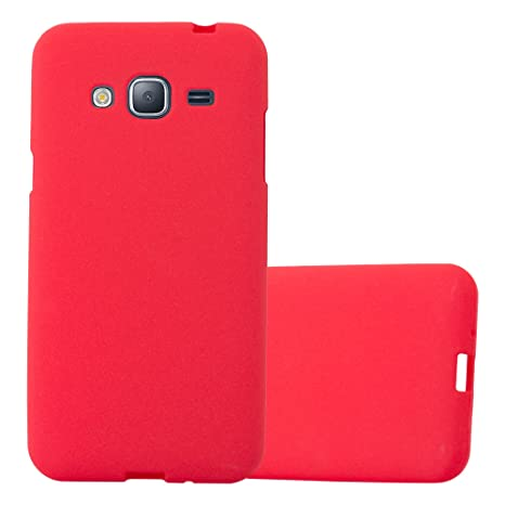 coque silicone rouge samsung j3 2016