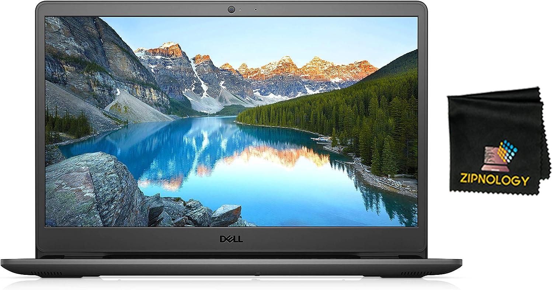 Dell Inspiron 3502 - 15.6inch HP Laptop - Intel Pentium Silver N5030 - 128GB SSD - 4GB DDR4 -Intel UHD - Windows 10 Home 64-bit + Zipnology Screen Cleaning Cloth Bundle - New