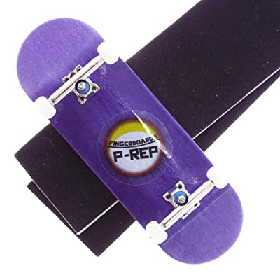 P-REP Solid Performance Complete Wooden Fingerboard 32mm x 100mm Dyed (Purple): Toys & Games