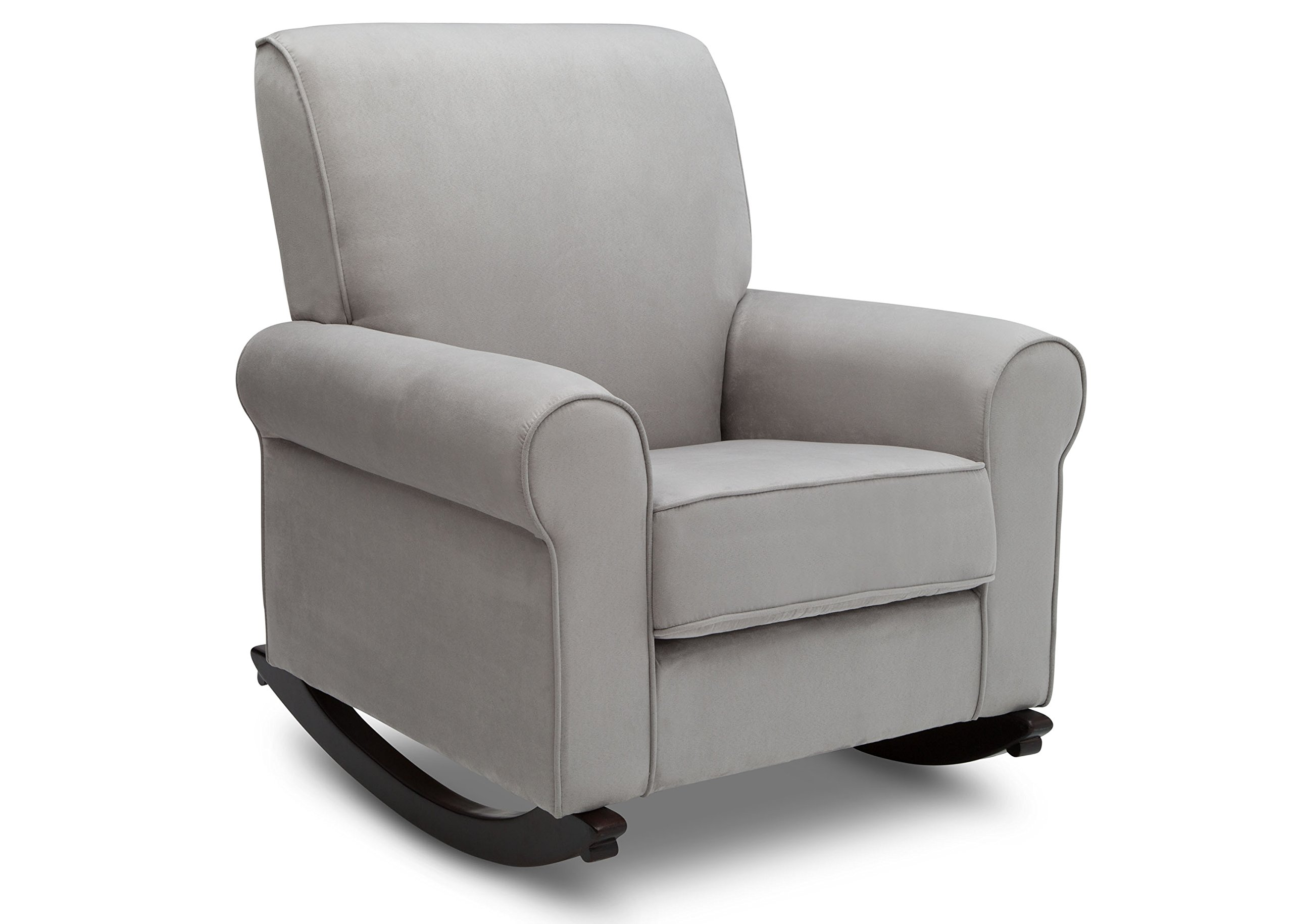 Delta Furniture Rowen Upholstered Rocking Chair, Dove Grey
