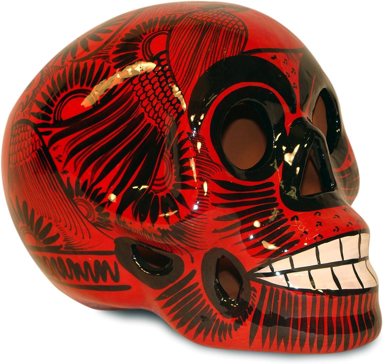 Sanyork Fair Trade Day of The Dead Sugar Skull Mexico Hand Made Decor Calavera Dia de Los Muertos