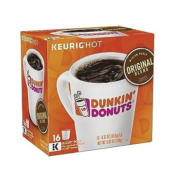 Amazoncom Dunkin Donuts Original Blend Coffee KCup Pods Medium
