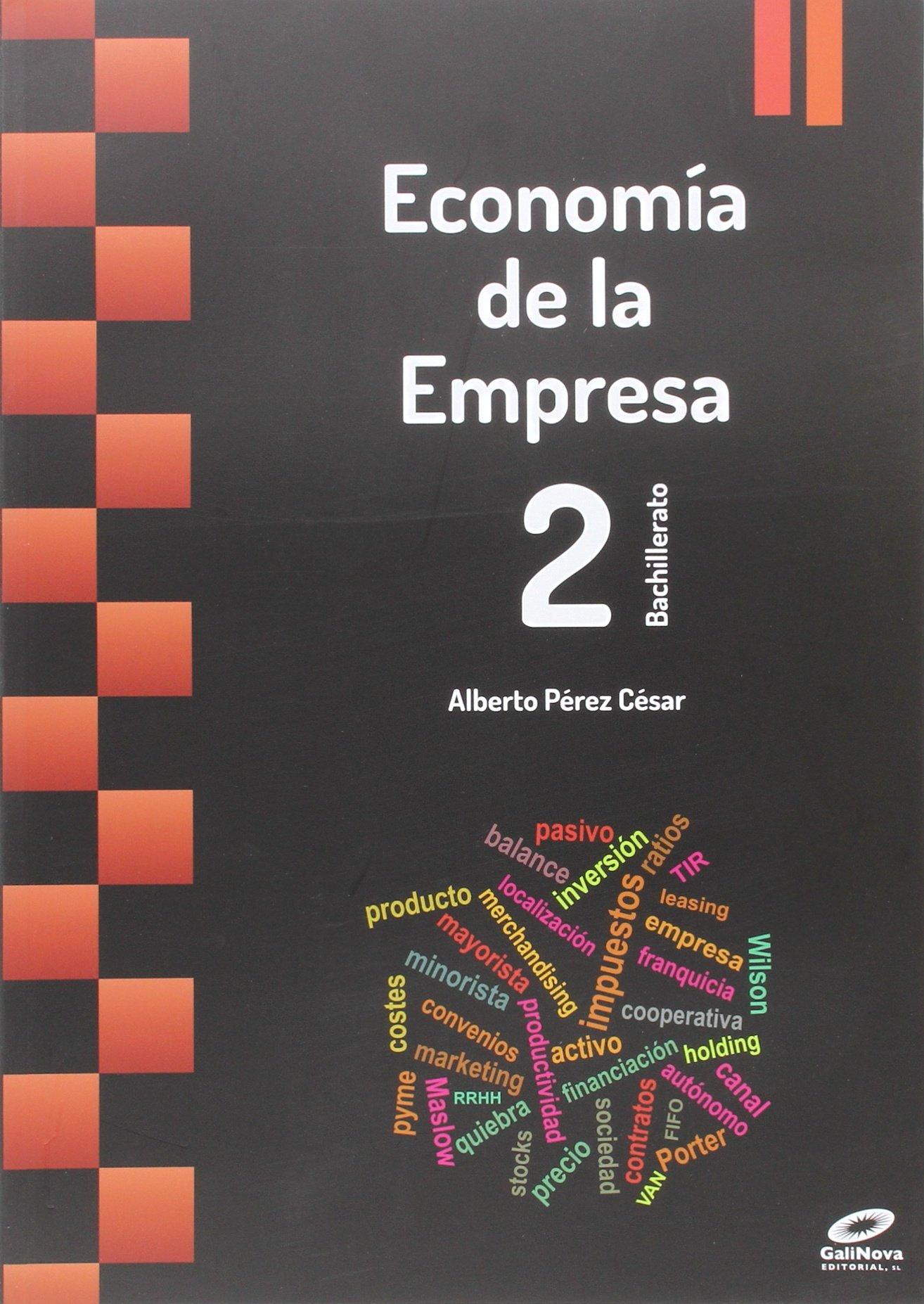 Economía en empresa 2º bachillerato 2015 ebook