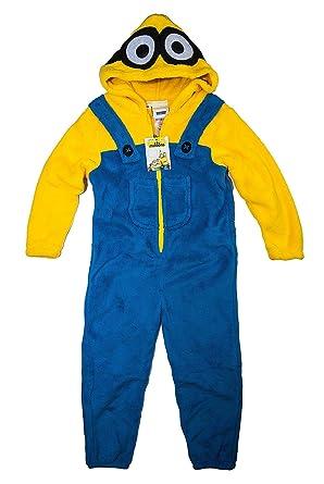9bdf7c8b3e MINIONS - Pijama de una pieza - para niño Design 2 104 cm  Amazon.es  Ropa  y accesorios