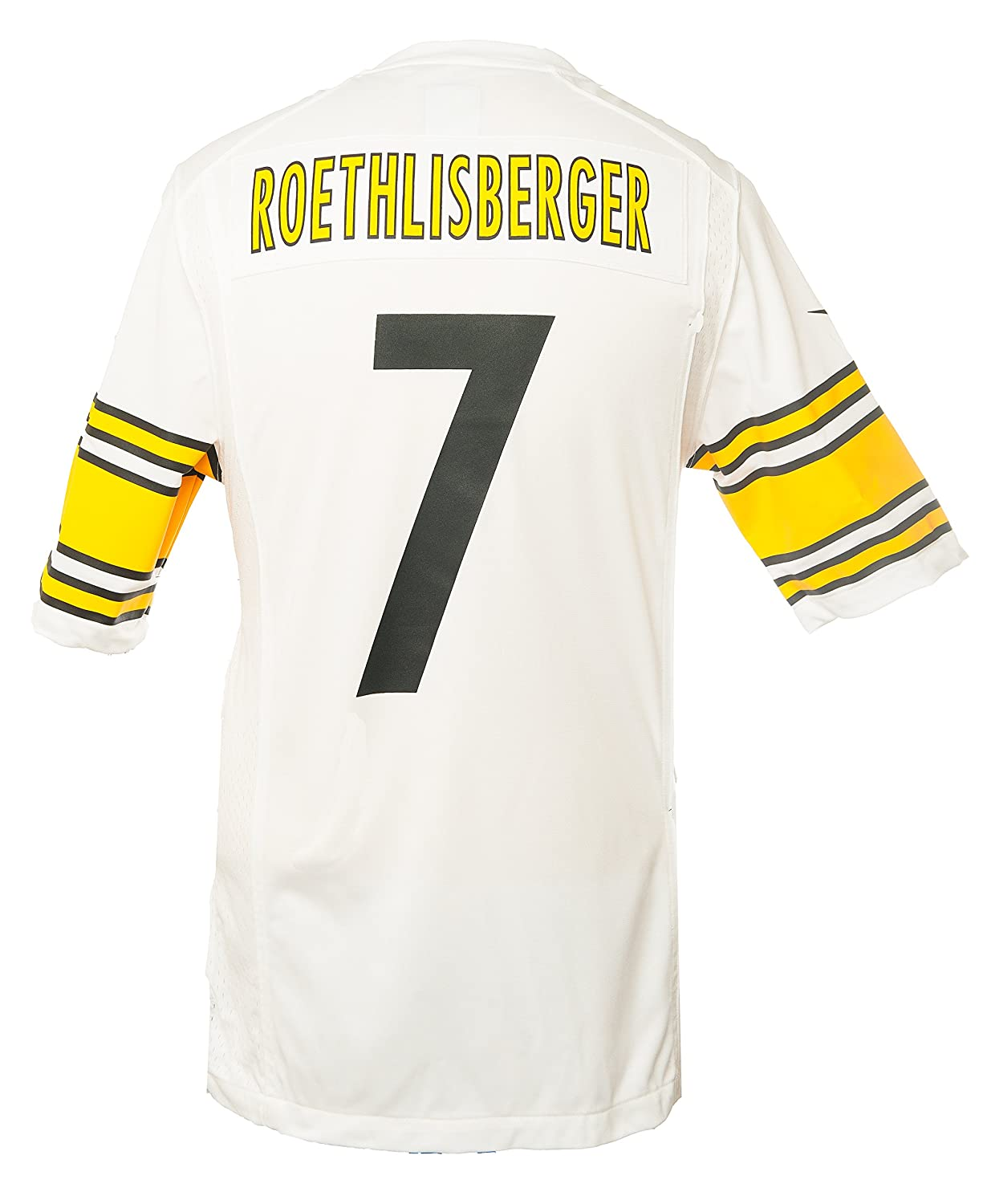 Nike Men s NFL Pittsburgh Steelers Ben Rothlesberger Jersey - White -  Large  Amazon.co.uk  Sports   Outdoors 0bb97cd9b