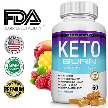 Lux Supplement Keto Burn Pills Ketosis Weight Loss– 1200 Mg Ultra Advanced Natural Ketogenic Fat