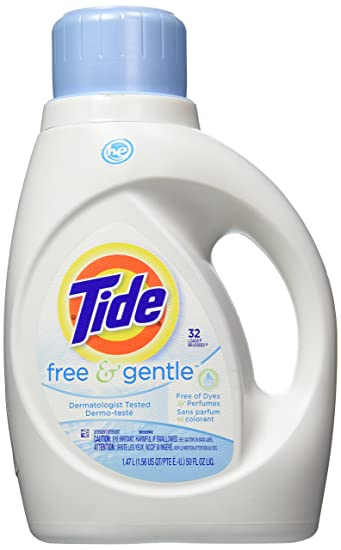 Amazon tide free and gentle