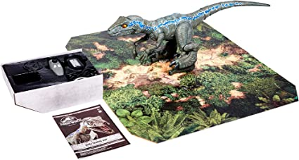 "Jurassic world 12/"" Action Figure Bleu Velociraptor Owen TOYS"