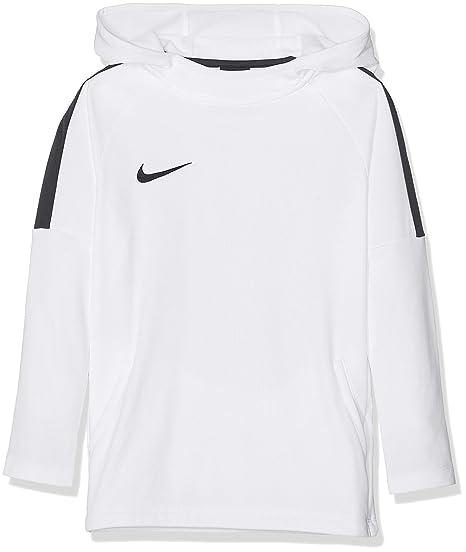 Nike B Nk Dry Acdmy18 Hoodie Po - white/black/white/black