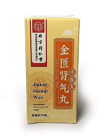 Warming up and Tonifying the kidney-Yang/Jin Kui Shen Qi Wan (360 pills) /  Tong Ren Tang (8)