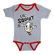 Lil Squirt Case IH Cute Cow Cartoon Aniaml Tractor Farm Infant Baby One Piece