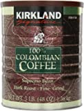 Signature 100% Colombian Coffee Supremo Bean Dark Roast-Fine Grind