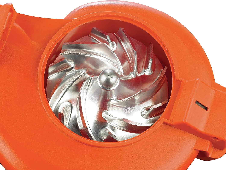 Black /& Decker GW2500 Electric Leaf Blower//Vacuum//Shredder Option with Electrical Cord 2500 W