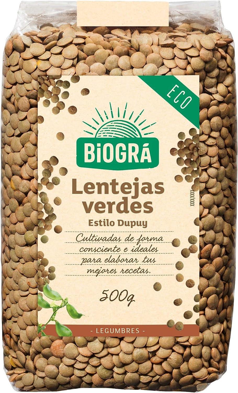 Biográ Lentejas Verdes Estilo Dupuy, 500g: Amazon.es ...
