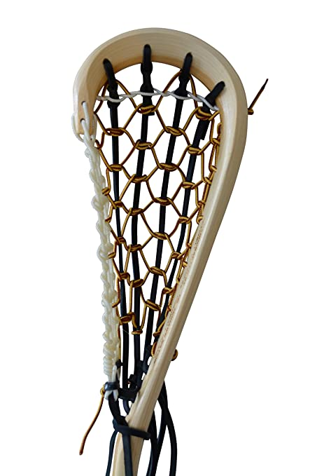 Amazoncom Wooden Lacrosse Stick Box Boot Lace By