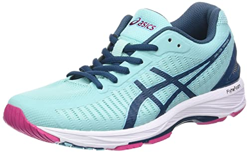 Asics Gel-DS Trainer 23, Scarpe Running Donna, Blu (Aruba Blue/Ink Blue/Fuchsia Purple 8845), 42 EU