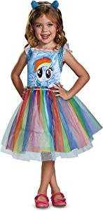 Rainbow Dash Movie Toddler Classic Costume, Blue, Small (2T)