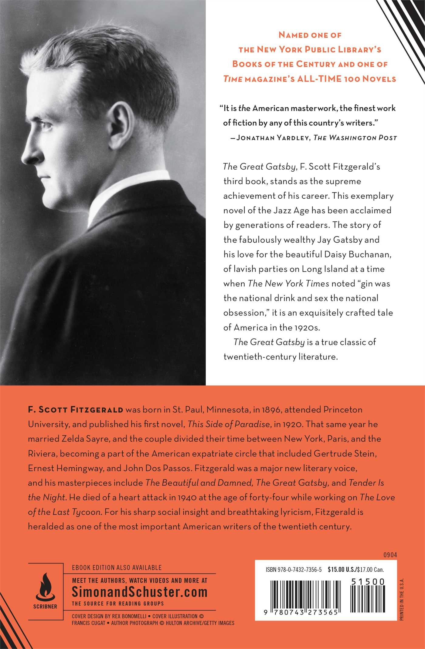 the great gatsby book report Custom book reports on the great gatsby by f scott fitzgerald.