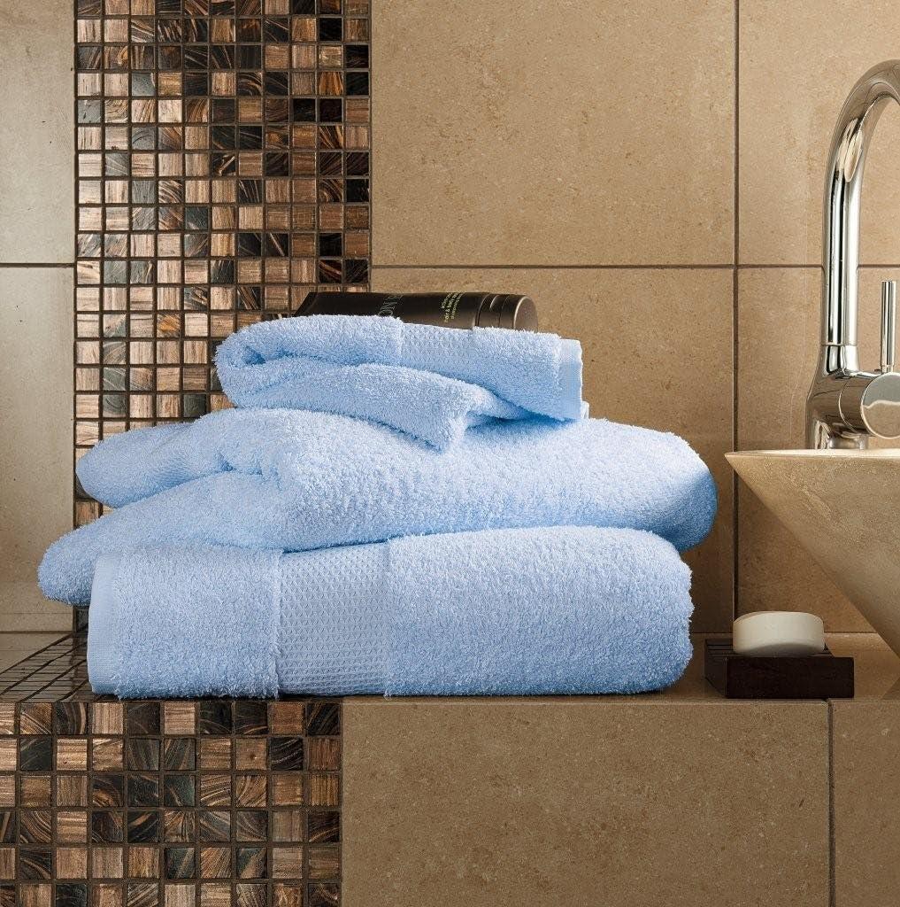 Gaveno Cavailia - Toalla de baño (algodón Egipcio, Absorbente, 700 g/m², 2 Unidades, 90 x 140 cm): Amazon.es: Hogar
