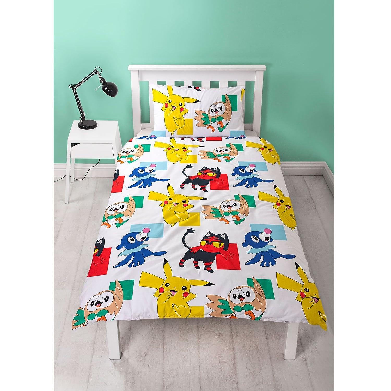 Pokemon Go Newbies Reversible Single Duvet Cover Bedding Set