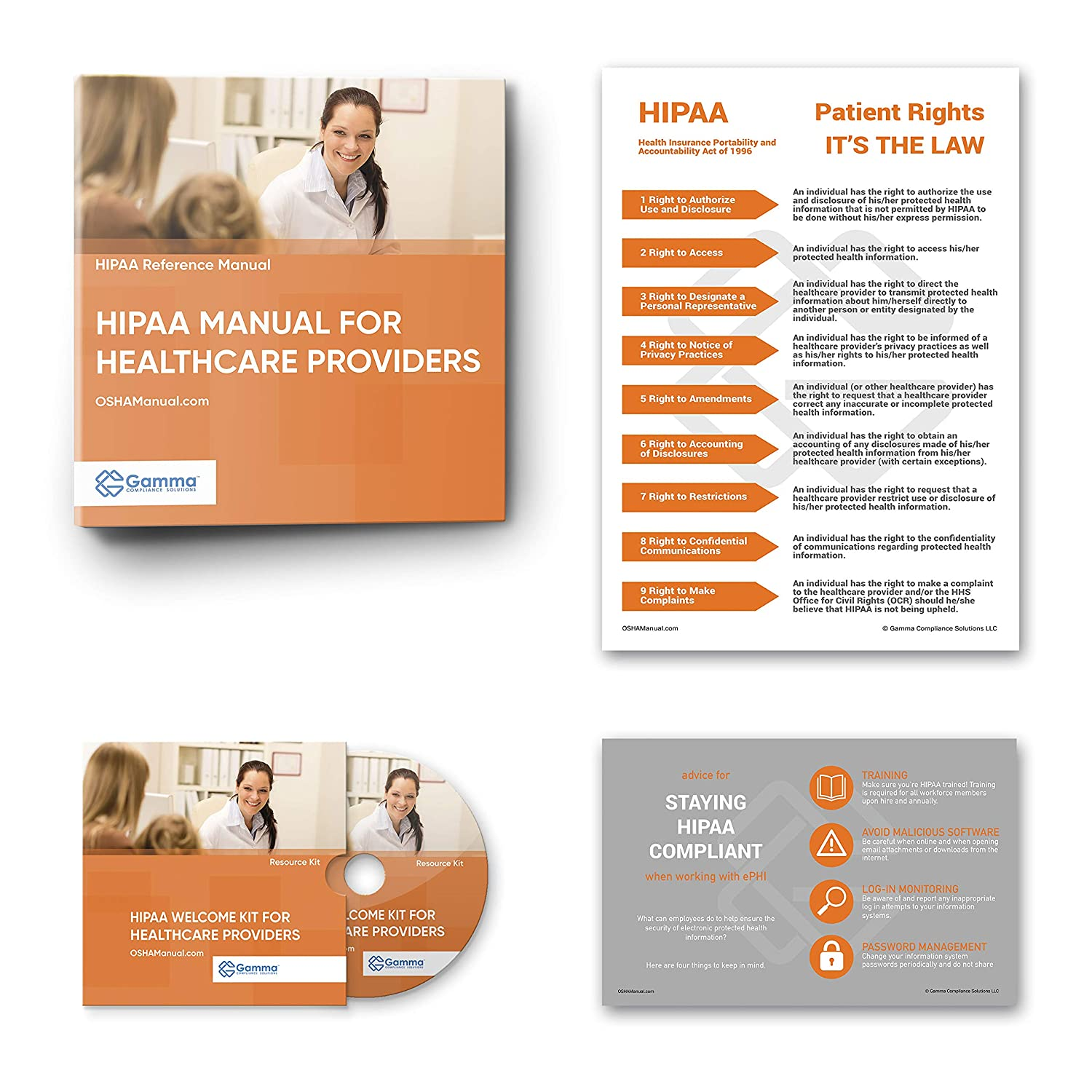 Resource CD 2020 HIPAA Manual for Medical and Dental Offices ...