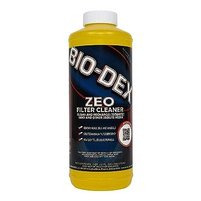 Bio-Dex Zeo Filter Cleaner (1 qt) : Swimming Pool Cartridge Filter Inserts : Garden & Outdoor