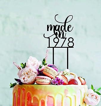 Monsety Décoration De Gâteau De Mariage Pour Anniversaire 30 40 50