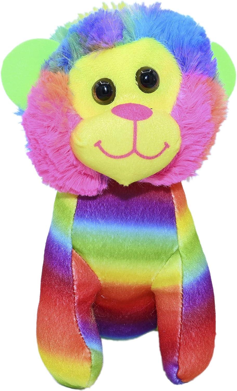 ML Peluche para Bebe Leon con Ojos Brillantes, tu Nueva Mascota para Adoptar, cuidar y amar de los Animales de Peluches 15cm (Tigre)