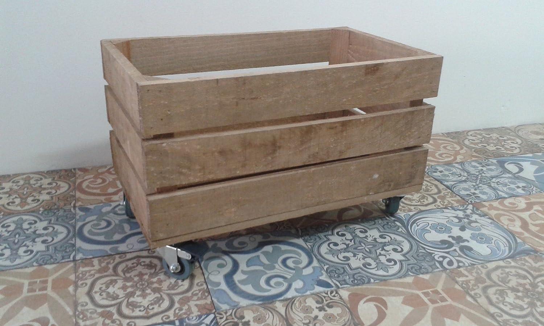 rebajas ofertas caja cajón de madera fruta pino envejecida con ...
