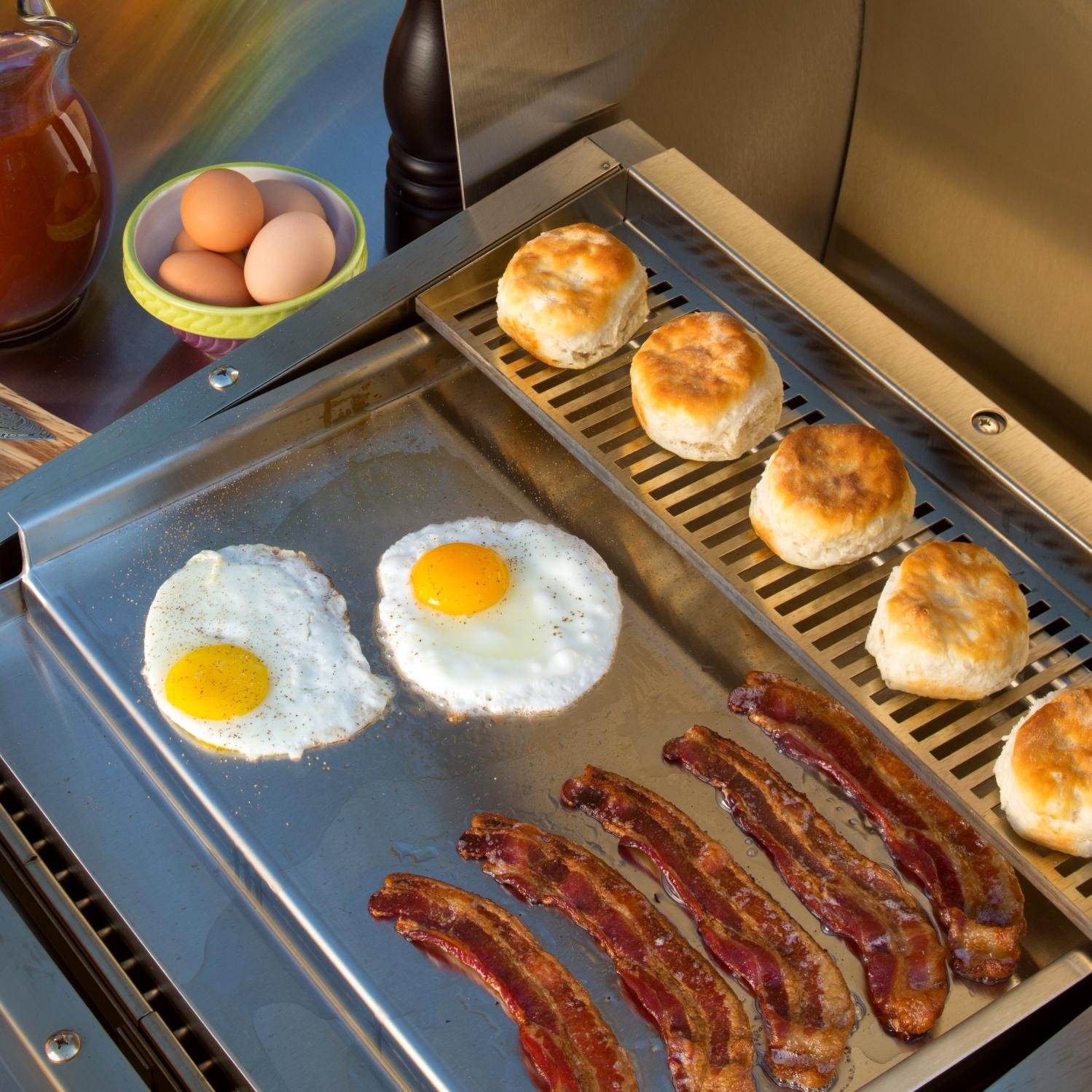 Tec Patio Fr Series Stainless Steel Griddle - Pfrfgss