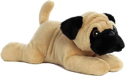 Realistic Pug Stuffed Animal, Aurora Pug Ger Pug Dog Flopsie Plush Stuffed Animal 12 Stuffed Animals Plush Amazon Canada