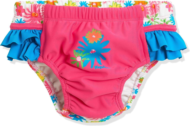 Playshoes Badewindel Blumenmeer mit UV-Schutz Costume Pannolino Bimbo