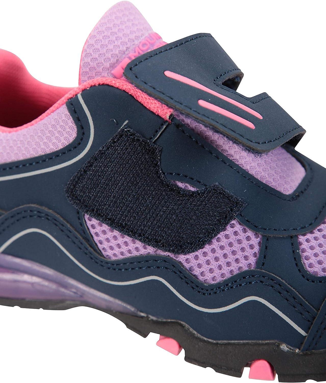 l/ég/ères Mountain Warehouse Chaussures pour Enfants Light Up Scratches Respirantes Durables Marche et Voyage cet /ét/é