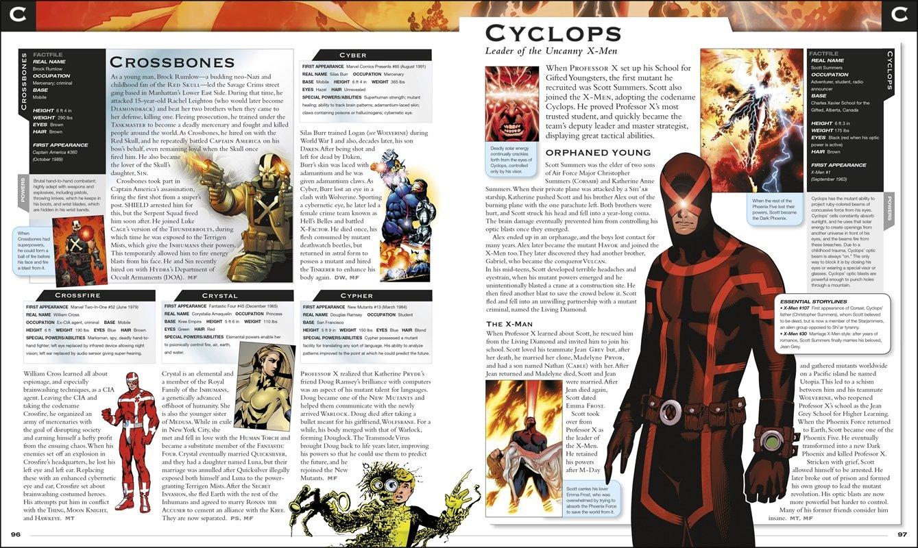 Marvel Encyclopedia: Matt Forbeck: 9781465415936: Amazon com