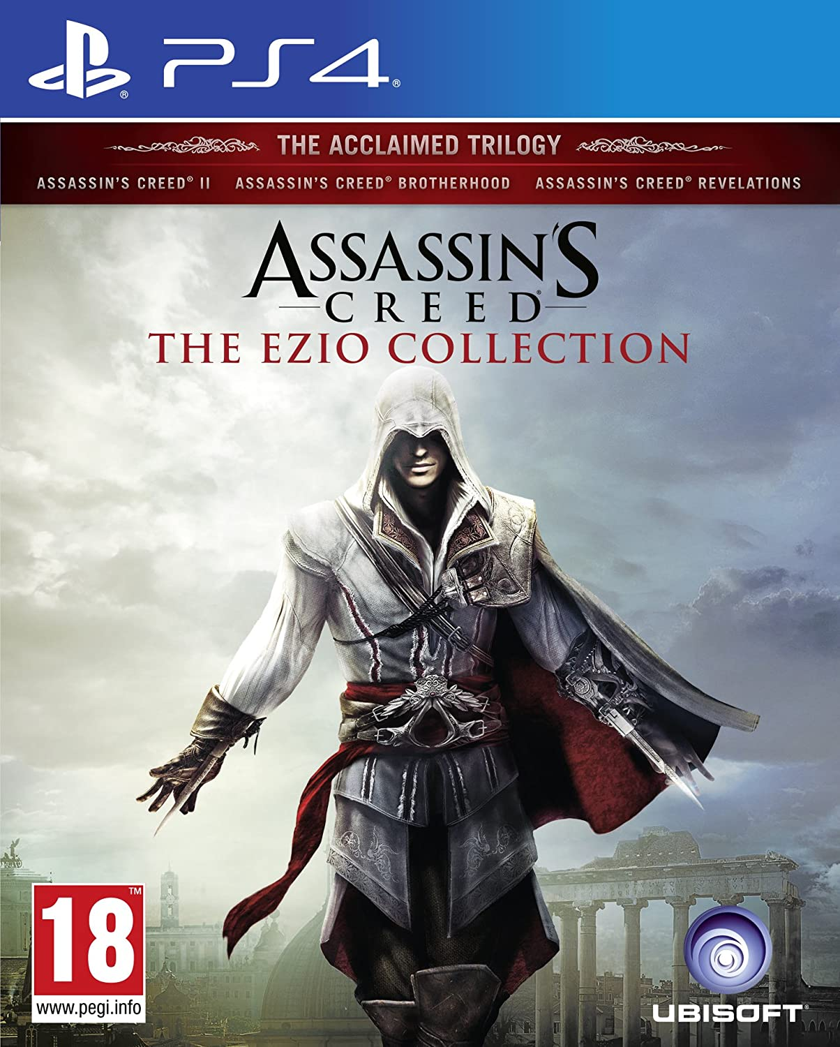 Assassins Creed The Ezio Collection Ps4 Amazon Co Uk Pc Video Games
