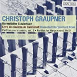 Graupner: Partitas for Harpsichord, Vol 5 - Darmstädter Clavierbuch /Soly